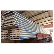 50 milímetros 75 milímetros Composto PU Roof parede sanduíche painel material de construção