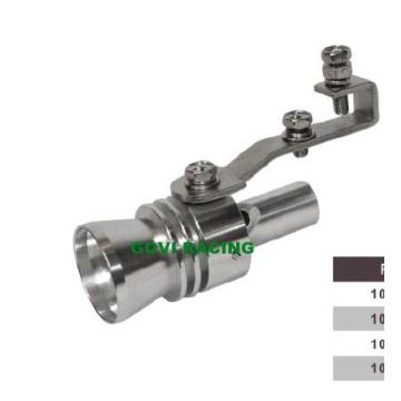 Alumínio Turbo Sound Silver Exhaust Whistle Polished Whistler