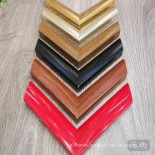 Solid color simple design frame moulding