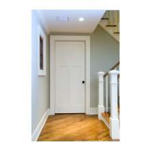 Low Price High Quality Simple White Wooden Indian Main Door Designs