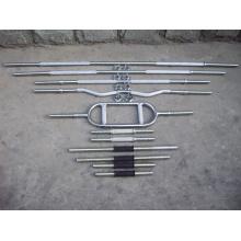 Barra del peso, barra del levantamiento de pesas, Crossfit Barbell
