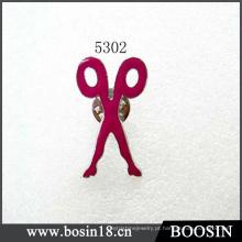 Broche de Metal Vermelho # 5302