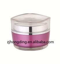 New lotus leaf shape cream jar acrylic plastic container