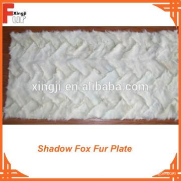 Precio razonable Shadow Fox pata delantera Fox Fur Plate