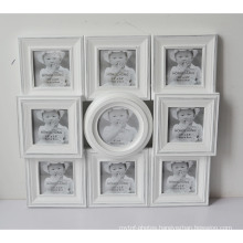 White Collage Photo Frame for Wall Hanging