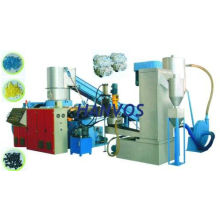 Pet, Pp, Ldpe, Ps, Hdpe Film Recycling Plastic Pelletizing Line Equipment