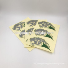 Etiqueta exterior cortada do vinil do PVC da prova UV