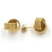 2016 Pendiente de diseño superior, pendiente de perlas de la joyería de la manera del color del oro