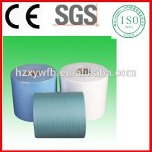 Chiffons industriels non-tissés libres non-pelucheux de Spunlace papier d'essuyage industriel