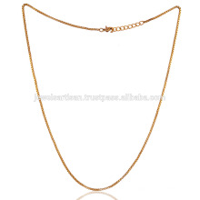 Brass Chain with Gold plated