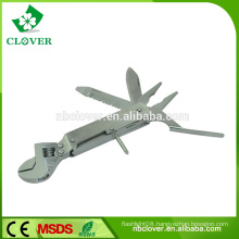 Multi function tool 9 in 1 stainless steel multi-purpose wrench