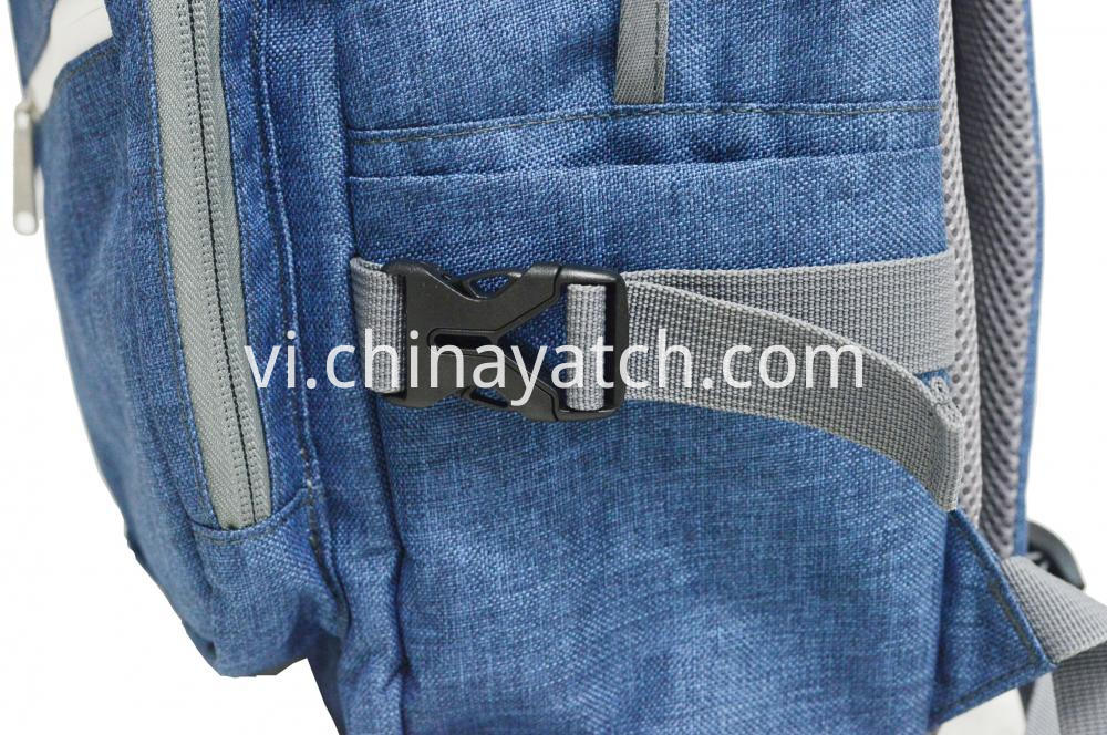 Multifunction Grey Backpac