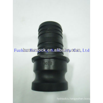 PP quick coupler for hydraulic type E male coupling