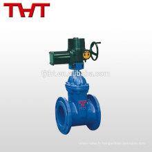 vanne électrique verrouillable à ressort 150mm