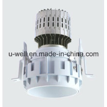 China New Frameless LED Recessed Light with White Housing