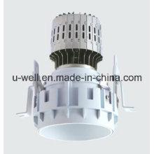 China New Frameless LED encastré avec boîtier blanc
