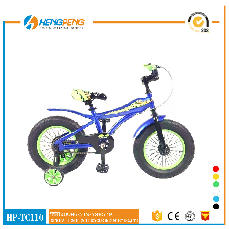 "New design factory red 16"" MTB kids Bicycle bike with CE"