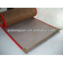 High temperature teflon mesh baking