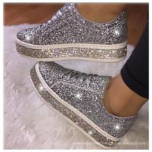Superstarer 2020 Cheap Women Bulk Fashion Rhinestone Shoes Platform Casual Shoes