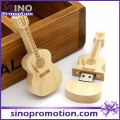 Großhandels-Miniatur-hölzerner Gitarren-USB-Blitz-Antrieb 8GB