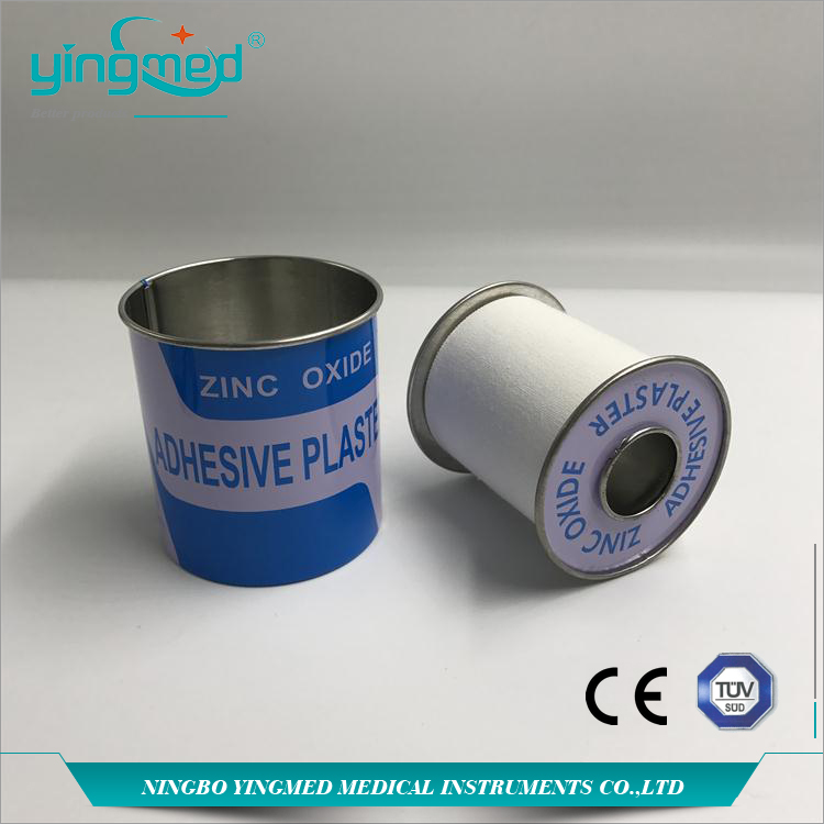 Zinc Oxide Plaster With A Tin