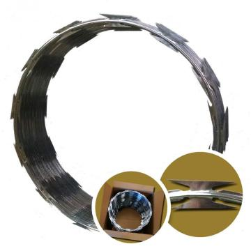 Galvanzied CBT-65 CBT-60 Razor Wire Type