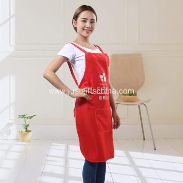 Promotional Adult Apron W/ Logo Printed