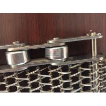 Cinta transportadora de malla de alambre para procesamiento de congelación de alimentos