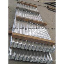 Feuilles de toiture en acier ondulé Galvalume de calibre 28