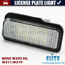LED License plate light for W203 5D,W211,W219,W204, W204 5D,W212,W216,W221