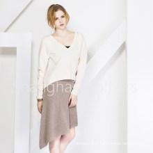 Suéter de Cashmere 16brss114