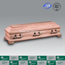 Venta por mayor ataúdes LUXES ataúdes de madera de estilo alemán y ataúdes