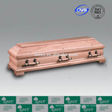 En gros coffrets LUXES cercueils en bois de Style Allemand grand & cercueils