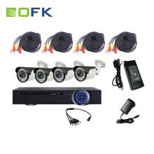 Sistema de segurança de preço de fábrica à prova d 'água night vision dvr kit for sale