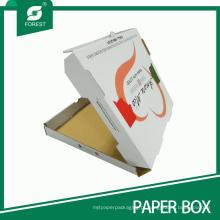 Mais recente alta qualidade personalizado caixa de pizza por atacado