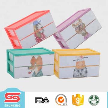 Desk supplies portable eco-friendly tabletop mini storage drawer for sale