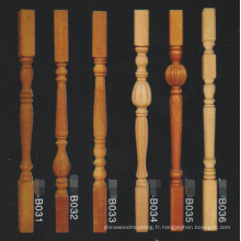 antique pas cher bois artisanat balustrade escalier pilier forte post