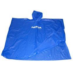 Blue Waterproof pvc Poncho