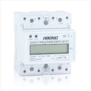 three phase four wire watt hour meter with RS485/multi-tariff/LCD