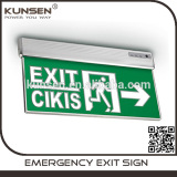 Wholesale IP30 AC85-265V 3W Self-luminous Exit Sign