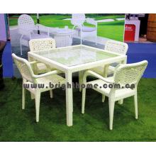 Mobiliario de jardín / Silla de comedor y mesa (BP-331A)