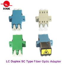 Adaptador de fibra óptica SC Duplex Single Mode / APC multimodo / Om3 / Om4 Sc