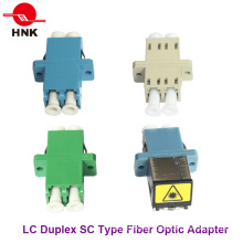 LC Duplex Singlemode/APC Multimode/Om3/Om4 Sc Type Fiber Optic Adapter