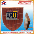 Custom Wooden Shield MDF Plaque for Awards