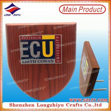 Placa de madera MDF de escudo de madera personalizada para premios