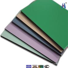 Fábrica directamente Guangzhou Panel de plástico compuesto de plástico PVDF Xh006