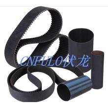 Courroie de distribution industrielle en caoutchouc néoprène, ceinture de puissance de Transmission/Desheng/imprimante, 1360h