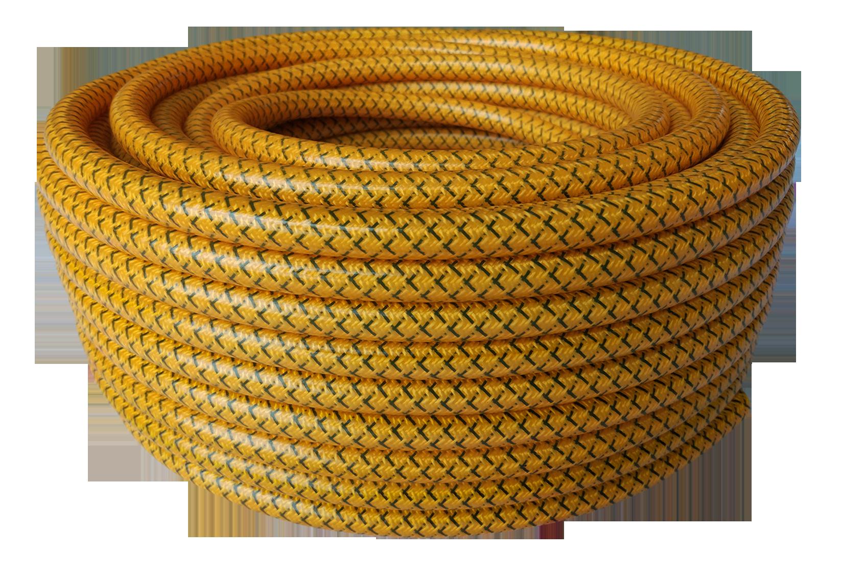 spray hose deep yellow