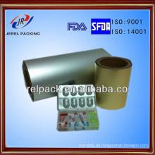 Heißer Verkauf Printed Alu Foil Roll Kaltumformung Aluminiumfolie