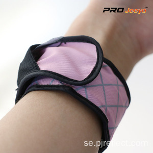 Reflekterande LED Light Pink Plaid Armband